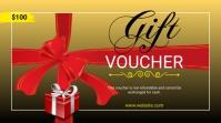 Gift Voucher Twitter Post Twitter-opslag template