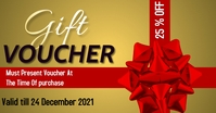 Gift vouchers Iklan Facebook template