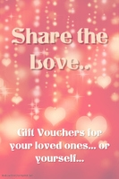 Share the love Gift Vouchers