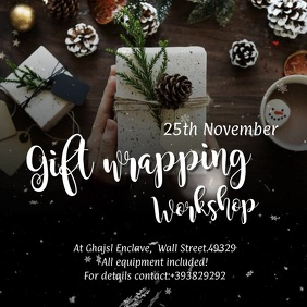 Gift wrapping workshop VIDEO Ad