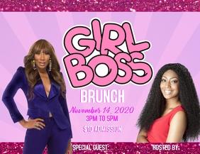 Girl boss empowerment brunch Flyer (US Letter) template