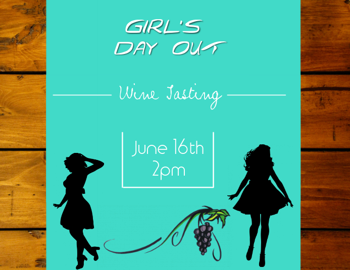 girl s day out template postermywall