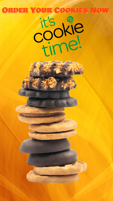 Girl Scout Cookies WhatsApp 状态 template