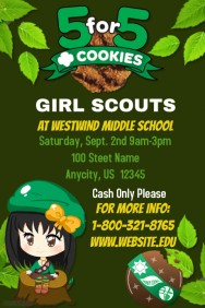 Girl Scouts Cookie Fundraiser