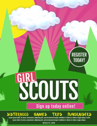 660 Girl Scouts Customizable Design Templates Postermywall