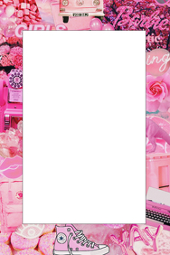 Girly Party Prop Frame