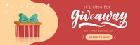 Giveaway Announcement Animated Email Header