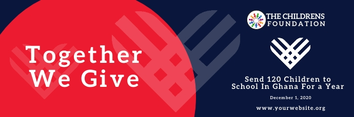 Giving Tuesday Email Header Template