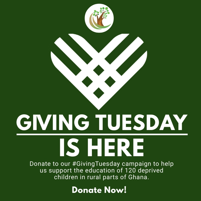 Giving Tuesday Fundraising Flyer Template Square (1:1)