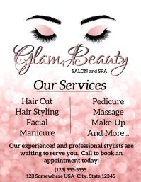 Glam Beauty Flyer