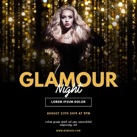 Glamour Event Video Design Instagram