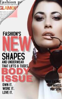Glamour Fashion New Shape MAGZiNE cover