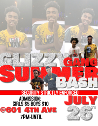 Glizzy Gang Summer Party