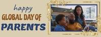 global day of parents Cover na Larawan ng Facebook template
