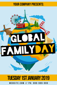 Global Family Day Poster