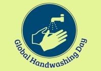 Global Handwashing Day Postal template