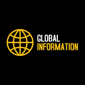 Global information logo