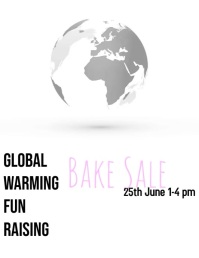 Global Warming Bake Sale