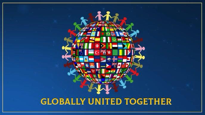 Globally Together Digital Design template