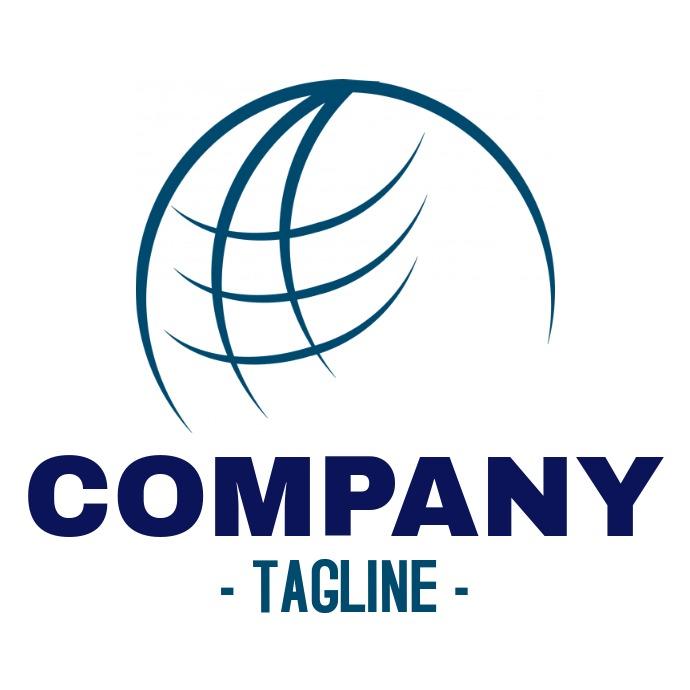 Globe logo / travel agency or business logo
