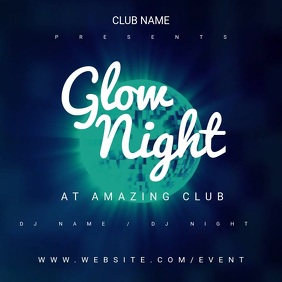 Glow Night Motion Poster