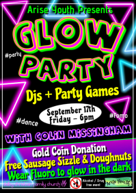 Glow Party Youth New A1 template