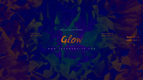 GLOW Youtube Channel Art Banner