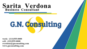 GN Consulting Business Card