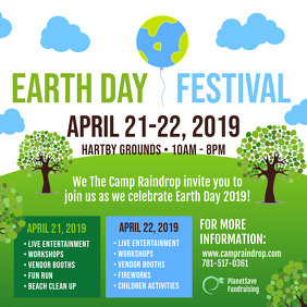 Go Green Earth Day Community Event Invite