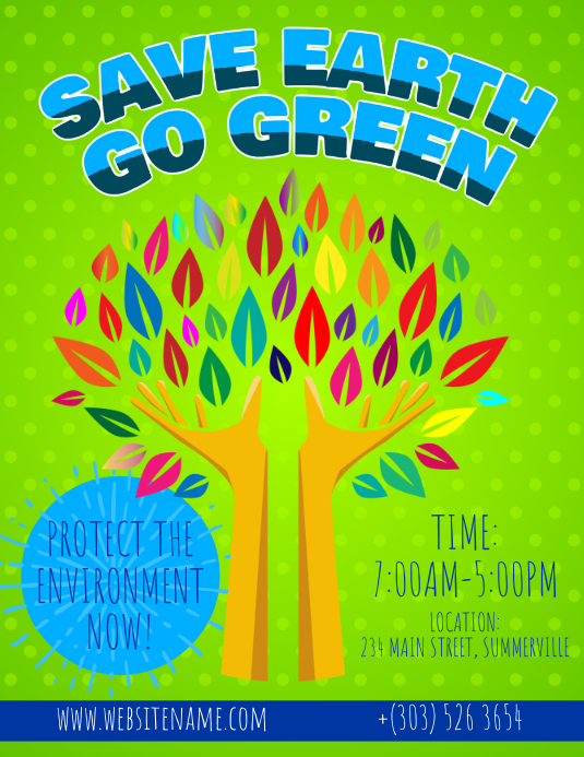 Go Green Flyer