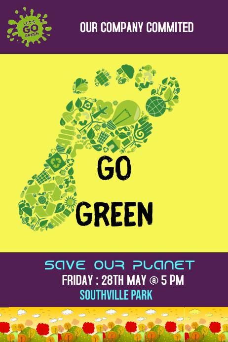 Go Green Template