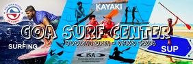 Goa Surf Center Banner Template