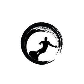 Goa Surf Center Premium Logo