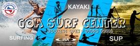 Goa Surf Center Premium Poster Template
