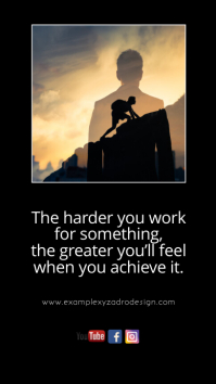 Goals Quotes Motivation Message Life Coach Instagram-verhaal template