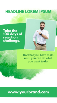 Goals Quotes Motivational Dreams Coach Ad Instagram Story template