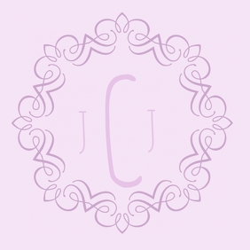 GOBO WEDDING MONOGRAM PROJECTION
