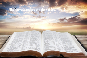 God's glory Affiche template