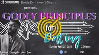 Godly Dating Principles Gambar Mini YouTube template