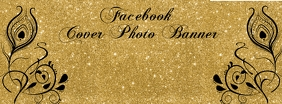 Gold Black Facebook Banner