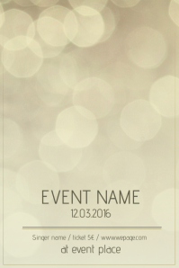 event flyer background