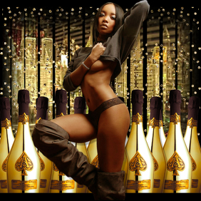 Gold Bottles SEXY FLYER