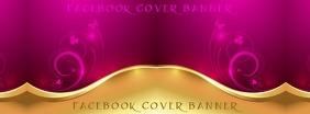 Gold Facebook Header template
