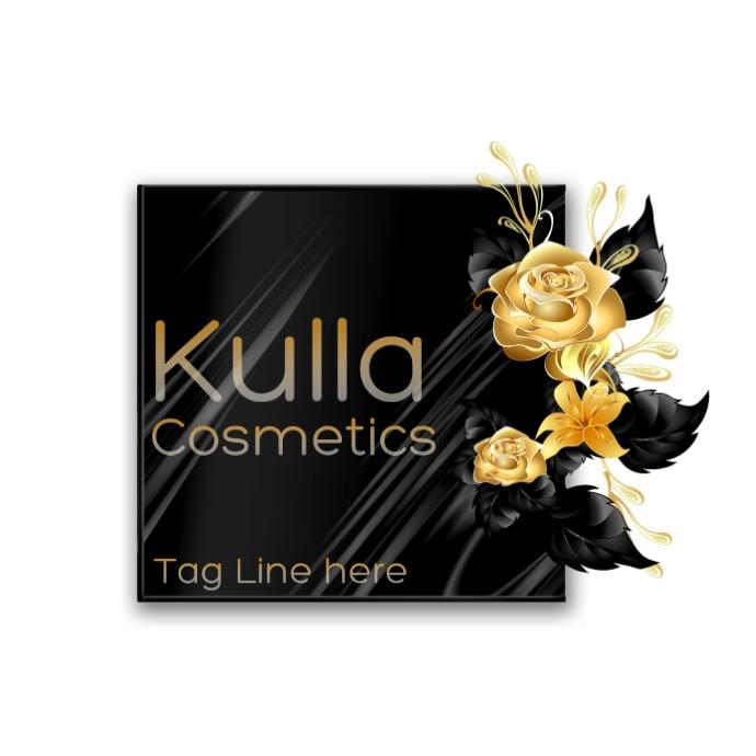 Gold Flower Logo 徽标 template