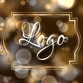 gold logo design Template
