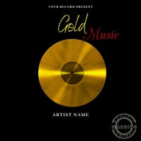 gold Music Mixtape/Album Cover A