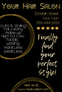 Gold Star Salon Advertsing