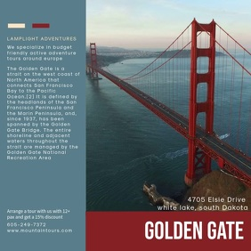 Golden Gate Tour Video Template