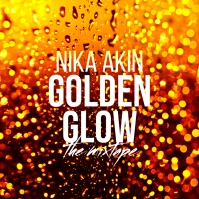 Golden Glow The Mixtape CD Cover template