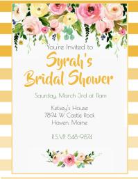Golden Rod Ombre Bridal Shower